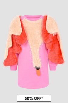 Wauw Capow Girls Pink Dress