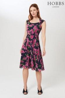 Hobbs Blue Lauren Dress