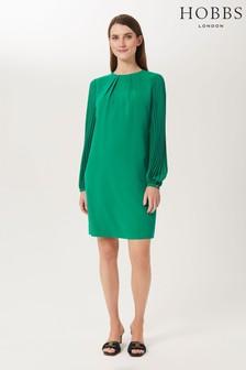 Hobbs Green Greta Popover Dress