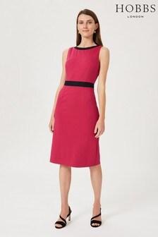 Hobbs Pink Marlene Dress