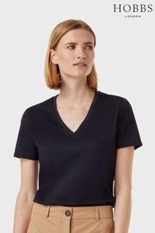 Hobbs Blue Charlotte T-Shirt