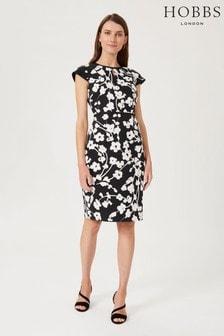 Hobbs Black Sophia Dress