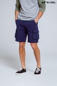 Animal Khaki Haze Organic Men's Cargo Shorts