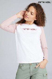 Animal Stephanie Organic Womens Long Sleeve T-Shirt