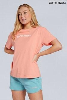 Animal Leonie Organic Womens Logo T-Shirt