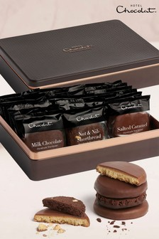 Hotel Chocolat Biscuits of The Gods Chocolat Shortbreads