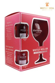 Whitley Neill Gin 43% abv 2x 5cl  Copa Glass