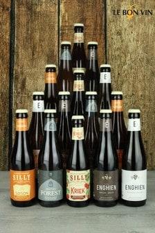 Belgian Beer Case of 15 Bottles by Le Bon Vin