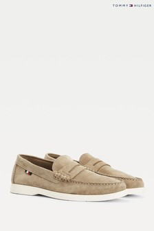 Tommy Hilfiger Brown Sustainable Loafers