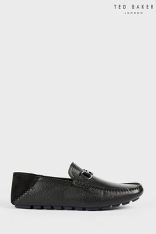 Ted Baker Monnen Leather Driver Shoes
