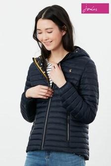 Joules Snug Water Resistant Packable Puffer Coat