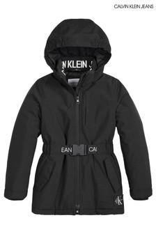 Calvin Klein Jeans Black Back To School Jacket