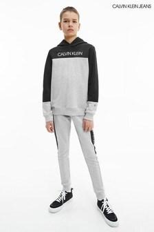 Calvin Klein Jeans Grey Colourblock Sweatpants Set