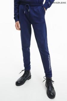 Calvin Klein Jeans Blue Essential Sweatpants Set