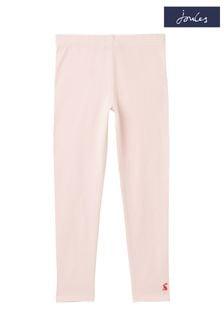 Joules Pink Emilia Cotton Leggings 1-12 Years