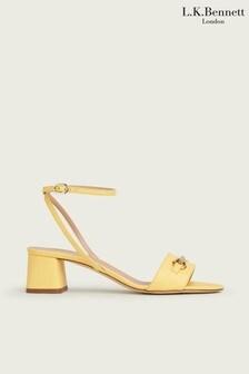 LK Bennett Yellow Shoes