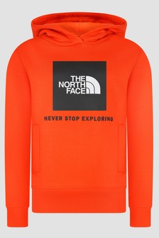 The North Face Boys Orange Hoodie