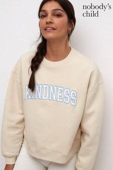Nobody's Child Womens Cream Be Kind Sweater