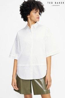 Ted Baker Orlanda Oversized 3/4 Length Sleeve Shirt