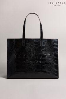 Ted Baker Allicon Croc Detail Ew Icon Bag