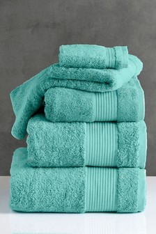 Teal Blue Egyptian Cotton Towels