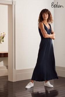Boden Blue Sienna Jersey Maxi Dress J0614