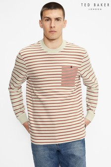 Ted Baker Koncall Striped Lightweight Sweat Top