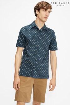 Ted Baker Ginton Diamond Geo Print Shirt