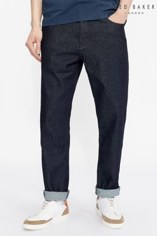 Ted Baker Aycee Rinse Washed Raw Denim Jeans