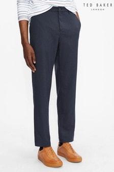 Ted Baker Julien Plain Brushed Trousers