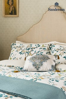 Sanderson Blue Andhara Fitted Sheet