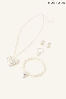 Monsoon Silver Bridesmaid Jewellery Gift Box