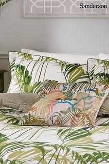 Sanderson Green Palm House Cushion