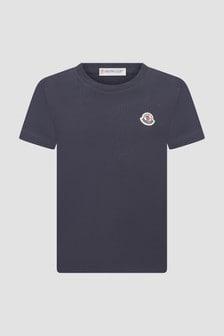 Moncler Enfant Boys Navy T-Shirt
