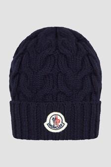 Moncler Enfant Boys Navy Hat