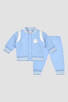 Moncler Enfant Baby Boys Blue Tracksuit