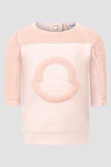 Moncler Enfant Baby Girls Pink Dress