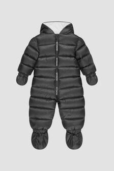Moncler Enfant Baby Boys Black Kimete Snowsuit