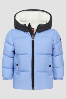 Moncler Enfant Baby Boys Blue Araldo Jacket