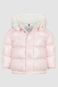 Moncler Enfant Baby Girls Pink Kaly Jacket