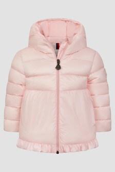 Moncler Enfant Baby Girls Pink Odile Jacket