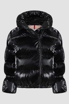Moncler Enfant Girls Black Herince Jacket