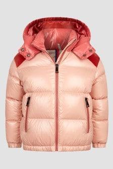 Moncler Enfant Girls Pink Chouelle Jacket