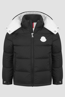 Moncler Enfant Boys Black Ercan Jacket