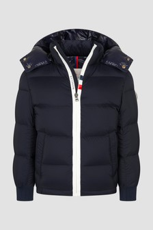Moncler Enfant Boys Navy Hale Jacket