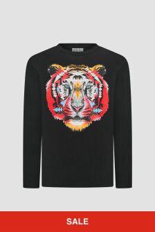 Marcelo Burlon Boys Black T-Shirt