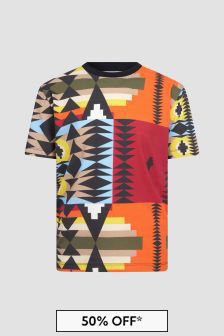 Marcelo Burlon Boys Multi T-Shirt