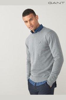 GANT Classic Cotton Crew Neck Sweater