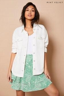 Mint Velvet Womens Valerie Tiered Mini Skirt