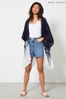 Mint Velvet Women's Selena Tie Dye Print Kimono